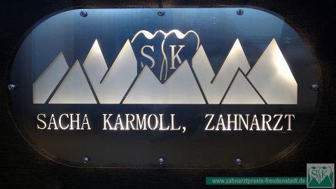Sacha Karmoll, Zahnarztpraxis Freudenstadt